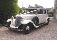 1930 Armstrong Siddeley Landaulette Wedding Cars
